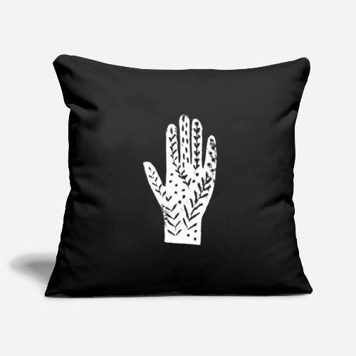 Hand – Händeabdruck T-Shirt – hands shirt - Sofakissenbezug 44 x 44 cm
