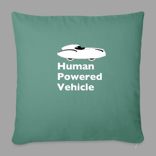 Quattrovelo Human Powered Vehicle white - Sohvatyynyn päällinen 45 x 45 cm