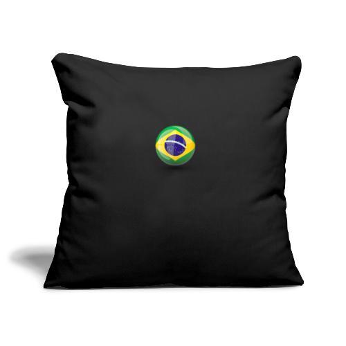 Símbolo da Bandeira do Brasil - Sofa pillowcase 17,3'' x 17,3'' (45 x 45 cm)