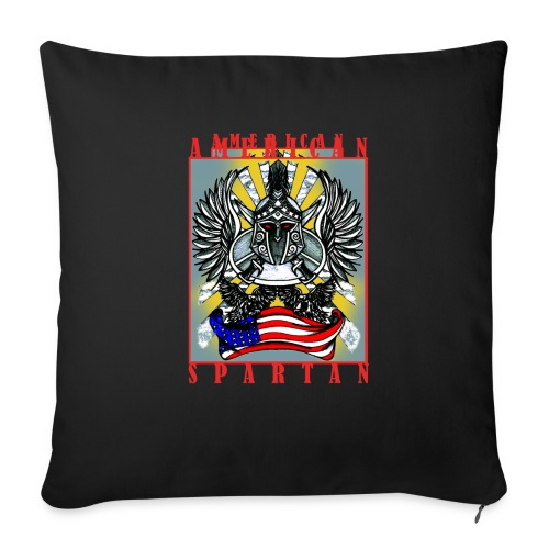 American Spartan - Sofa pillowcase 17,3'' x 17,3'' (45 x 45 cm)