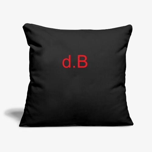 d.B RED - Copricuscino per divano, 45 x 45 cm