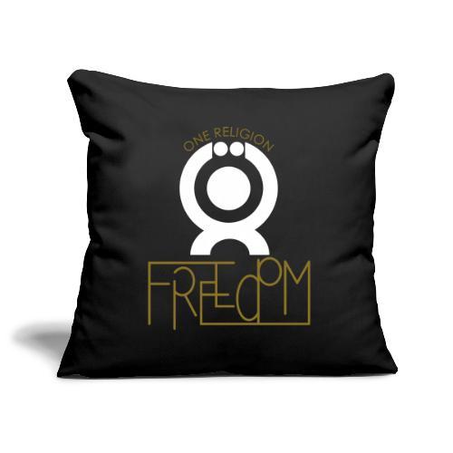 O.ne R.eligion Freedom - Housse de coussin décorative 45x 45cm