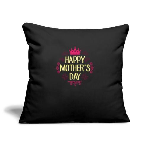 Happy Mother's Day - Sofa pillowcase 17,3'' x 17,3'' (45 x 45 cm)