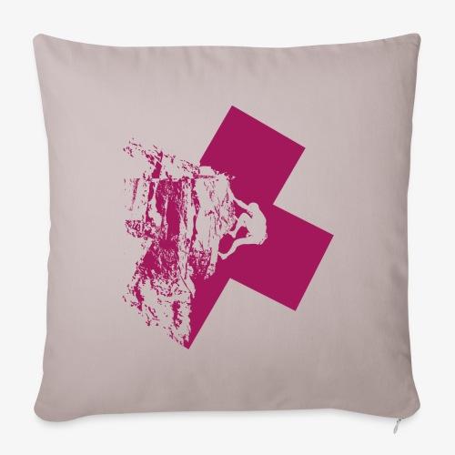 Climbing away - Sofa pillowcase 17,3'' x 17,3'' (45 x 45 cm)