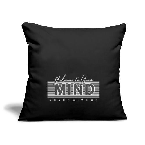 Belive in your Mind - Copricuscino per divano, 45 x 45 cm