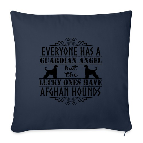 Afghan Hound Angels - Sofa pillowcase 17,3'' x 17,3'' (45 x 45 cm)