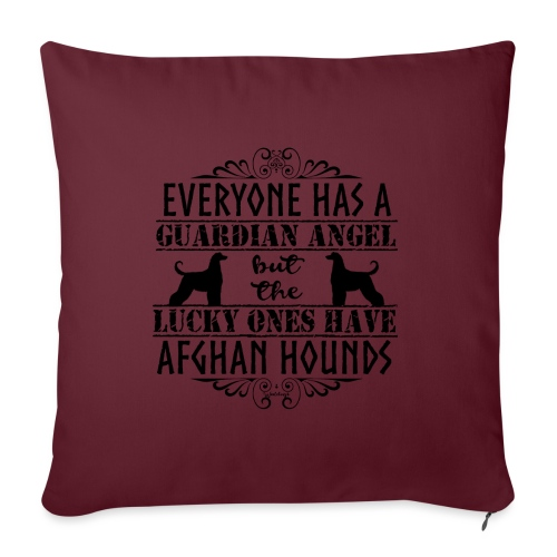 Afghan Hound Angels - Sofa pillowcase 17,3'' x 17,3'' (45 x 45 cm)