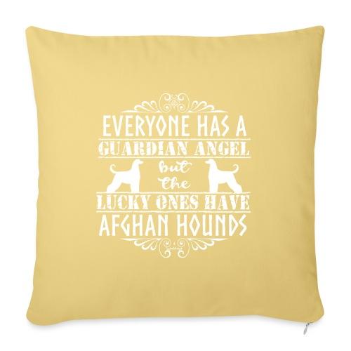 Afghan Hound Angels 2 - Sofa pillowcase 17,3'' x 17,3'' (45 x 45 cm)