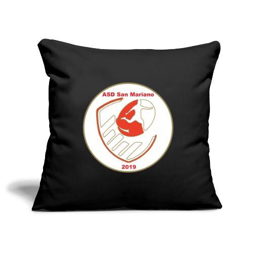 Logo ASD San Mariano 2019 - Copricuscino per divano, 45 x 45 cm