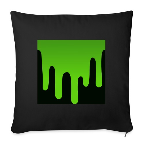 Dripping lime Pillow - Sofa pillow cover 44 x 44 cm