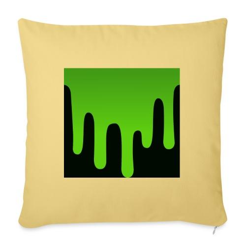 Dripping lime Pillow - Sofa pillowcase 17,3'' x 17,3'' (45 x 45 cm)