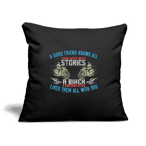 Biker stories. - Sofa pillowcase 17,3'' x 17,3'' (45 x 45 cm)