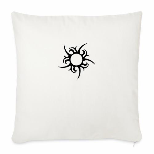 tribal sun - Sofa pillowcase 17,3'' x 17,3'' (45 x 45 cm)