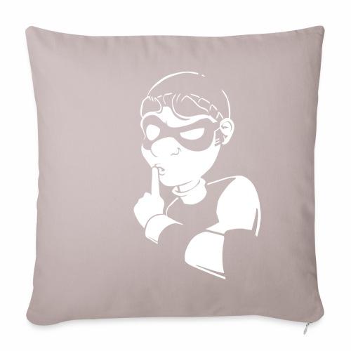 Bob Sssh - Sofa pillowcase 17,3'' x 17,3'' (45 x 45 cm)