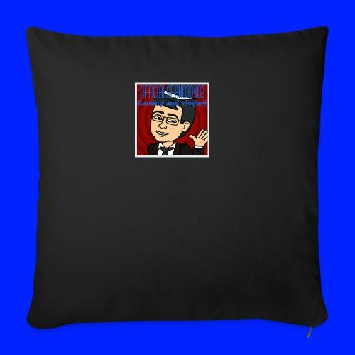 logo 1 jpg - Sofa pillowcase 17,3'' x 17,3'' (45 x 45 cm)