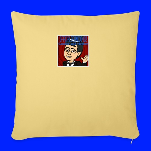 logo 1 jpg - Sofa pillowcase 17,3'' x 17,3'' (45 x 45 cm)