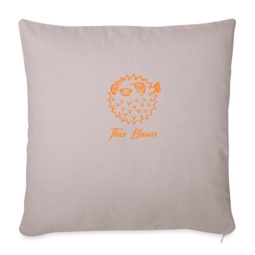 puffer - Sofa pillowcase 17,3'' x 17,3'' (45 x 45 cm)