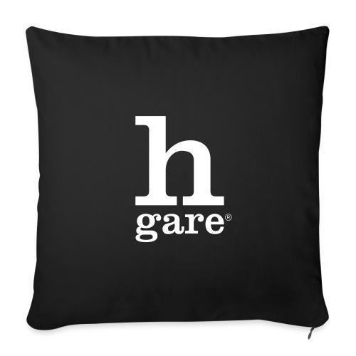 HGARE LOGO - Copricuscino per divano, 45 x 45 cm