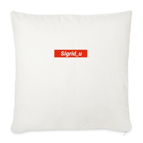Sigrid_uBoxLogo - Sofaputetrekk 45 x 45 cm