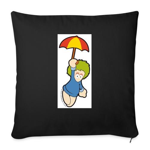 lemming parapluie - Housse de coussin décorative 45x 45cm