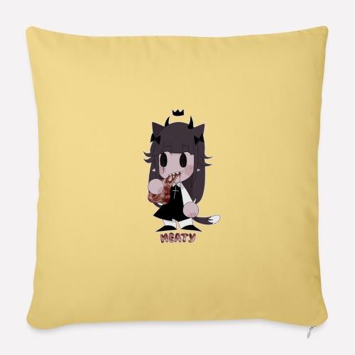 Meaty! - Sofa pillowcase 17,3'' x 17,3'' (45 x 45 cm)