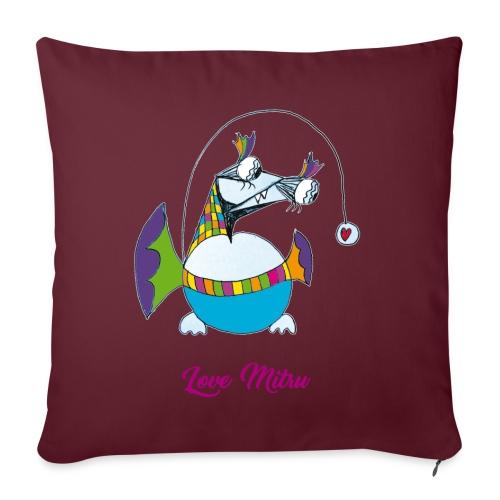Love Mitru - Housse de coussin décorative 45x 45cm