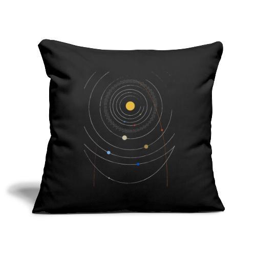 Sonnensystem mit Nibiru - Sofakissenbezug 44 x 44 cm