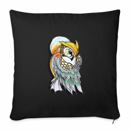 Cosmic owl - Funda de cojín, 45 x 45 cm