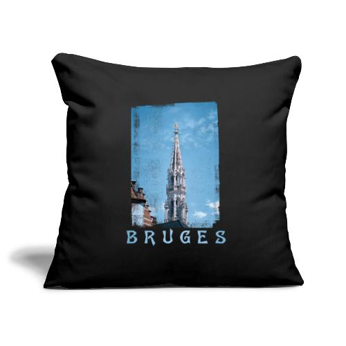 Bruges | Belfort - Sierkussenhoes, 45 x 45 cm