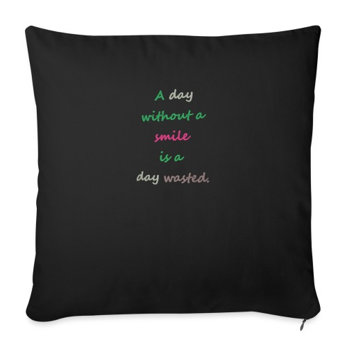 Say in English with effect - Sofa pillowcase 17,3'' x 17,3'' (45 x 45 cm)