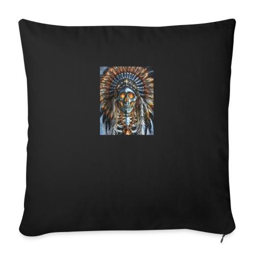jefe indio - Funda de cojín, 45 x 45 cm
