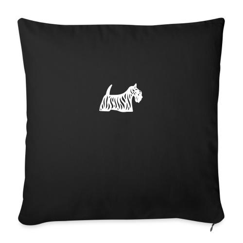 Founded in Scotland alternative logo - Sofa pillowcase 17,3'' x 17,3'' (45 x 45 cm)