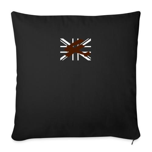 ukflagsmlWhite - Sofa pillowcase 17,3'' x 17,3'' (45 x 45 cm)