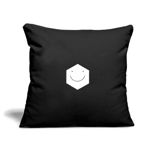 Happy face - Sofa pillowcase 17,3'' x 17,3'' (45 x 45 cm)