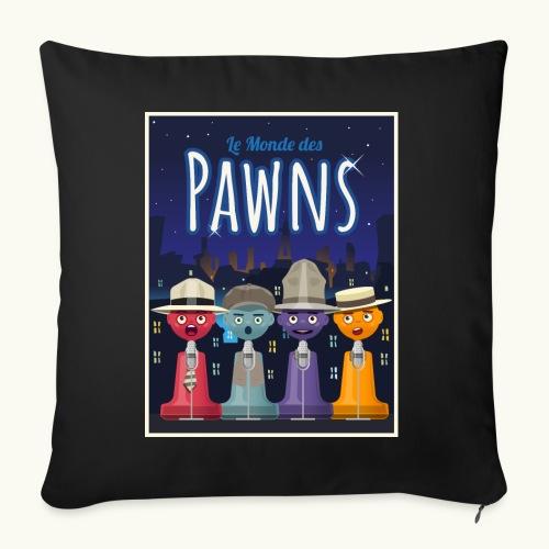 Les Pawn Brothers Chantent - Housse de coussin décorative 45x 45cm