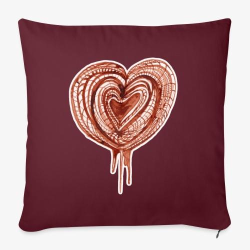 muscular pump transp - Sofa pillowcase 17,3'' x 17,3'' (45 x 45 cm)