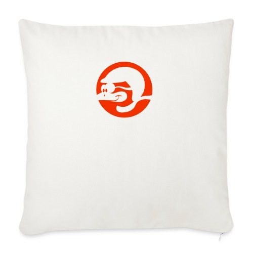 Team Buschfink Logo On Dark - Sofa pillowcase 17,3'' x 17,3'' (45 x 45 cm)