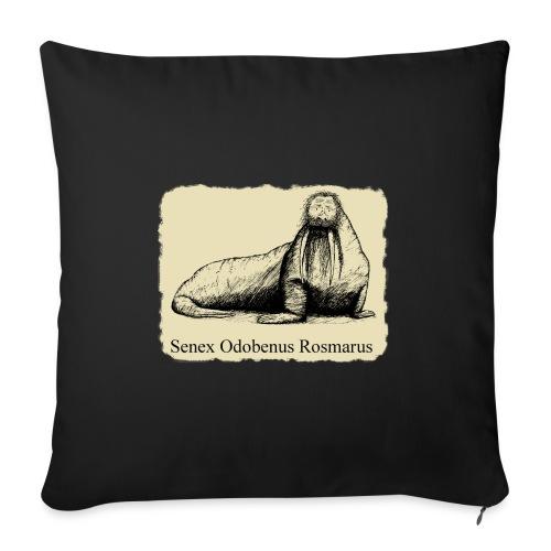 The Old Walrus - Sofa pillowcase 17,3'' x 17,3'' (45 x 45 cm)