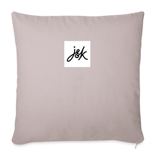 J K - Sofa pillowcase 17,3'' x 17,3'' (45 x 45 cm)