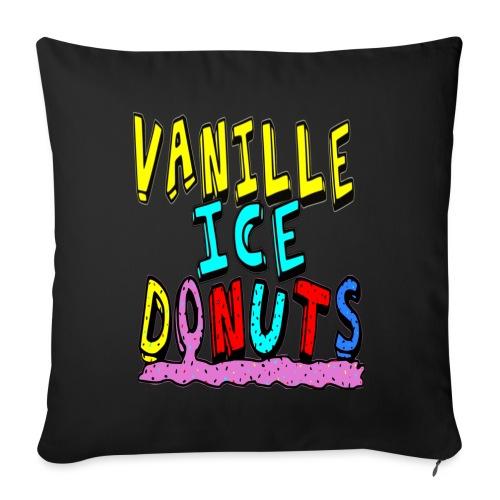vanille eis donuts - Sofakissenbezug 44 x 44 cm