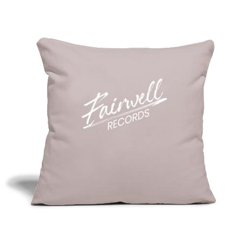 Fairwell Records - White Collection - Pudebetræk 45 x 45 cm