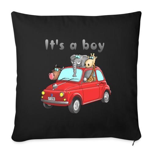 It's a boy - Baby - Cartoon - lustig - Sofakissenbezug 44 x 44 cm