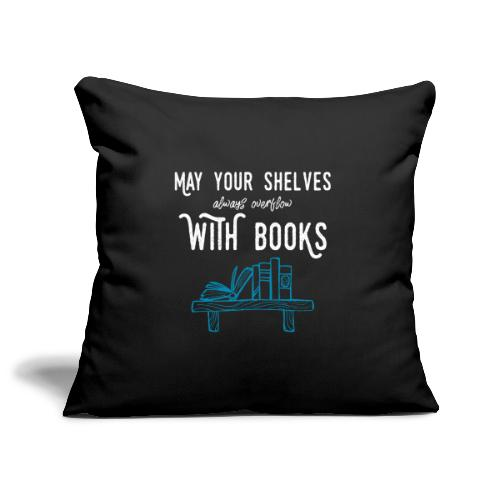 0032 bookshelf | Stack of books | Wish | reader - Sofa pillow cover 44 x 44 cm