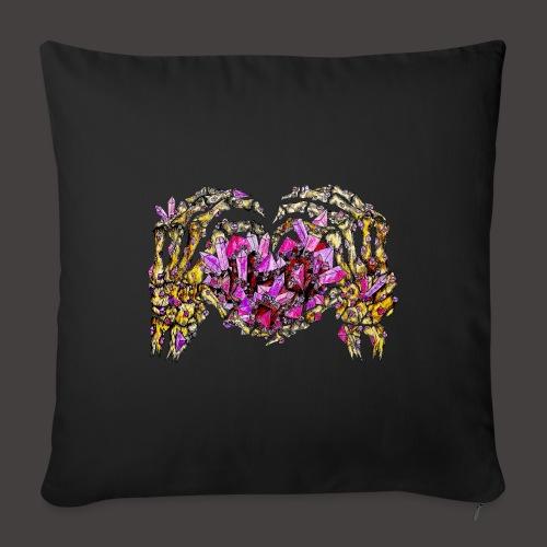 L amour Cristallin Creepy - Housse de coussin décorative 45x 45cm