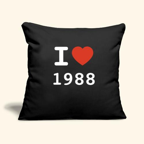 I Love 88 w p 001 - Sofakissenbezug 44 x 44 cm