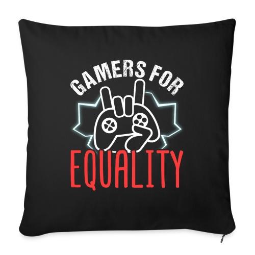 Gamers For Equality - Sofakissenbezug 44 x 44 cm
