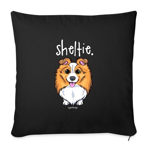 Sheltie Dog Cute 5 - Sofa pillowcase 17,3'' x 17,3'' (45 x 45 cm)