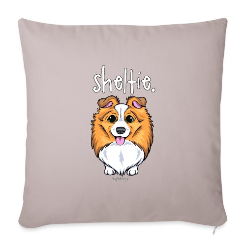 Sheltie Dog Cute 5 - Sofa pillowcase 17,3'' x 17,3'' (45 x 45 cm)