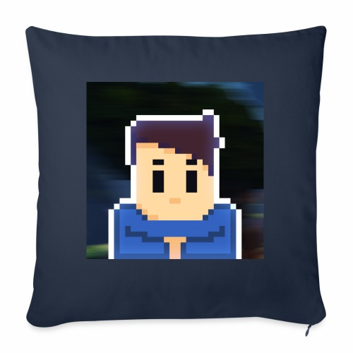 JoeWobbler Avatar with Background - Sofa pillow cover 44 x 44 cm