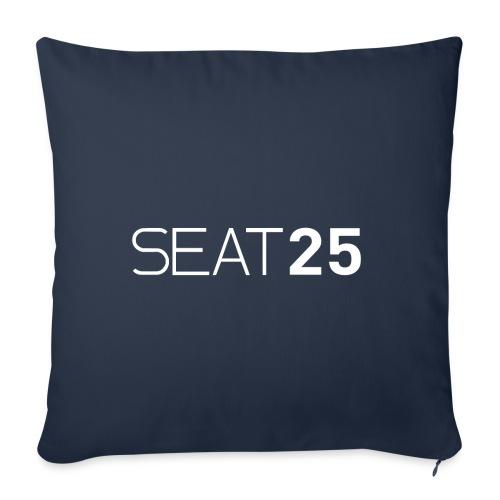 Seat25 Logo Light - Sofa pillow cover 44 x 44 cm